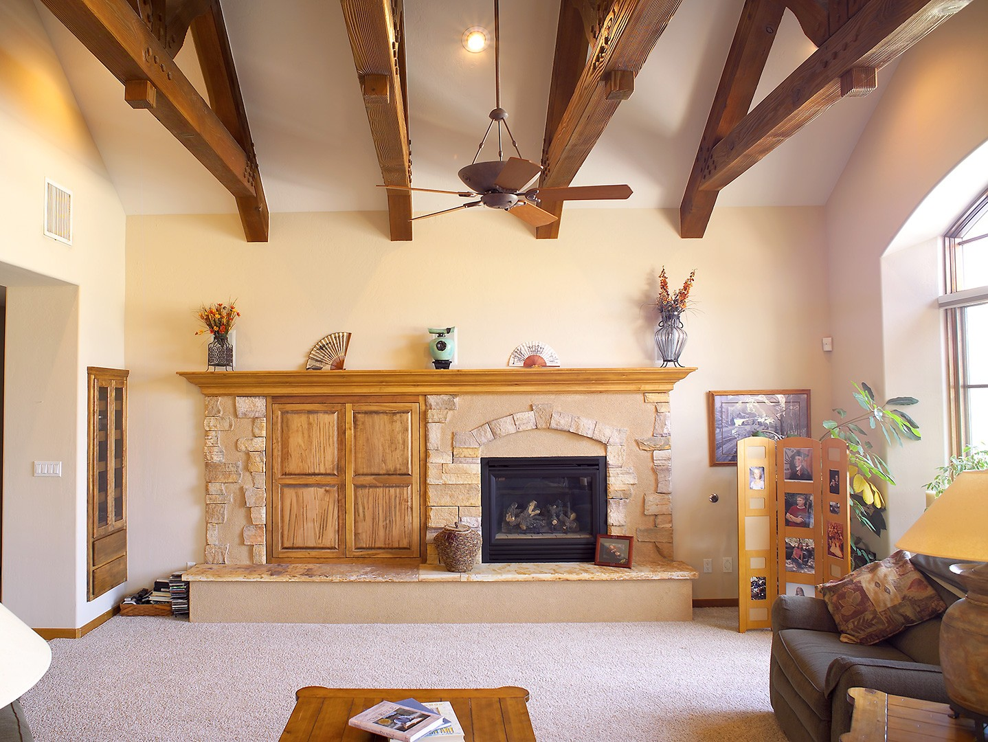 keystone homes great room photo